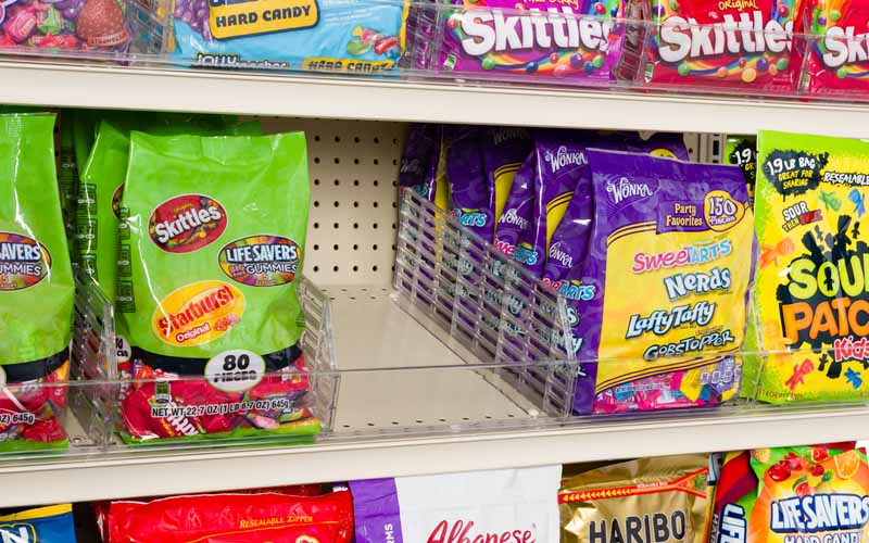 Clearview Organizes Bagged Candy