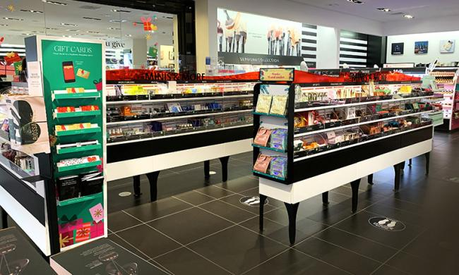 Sephora Bellevue Cosmetics Display