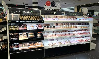 Lawless Ilia Cosmetics Display